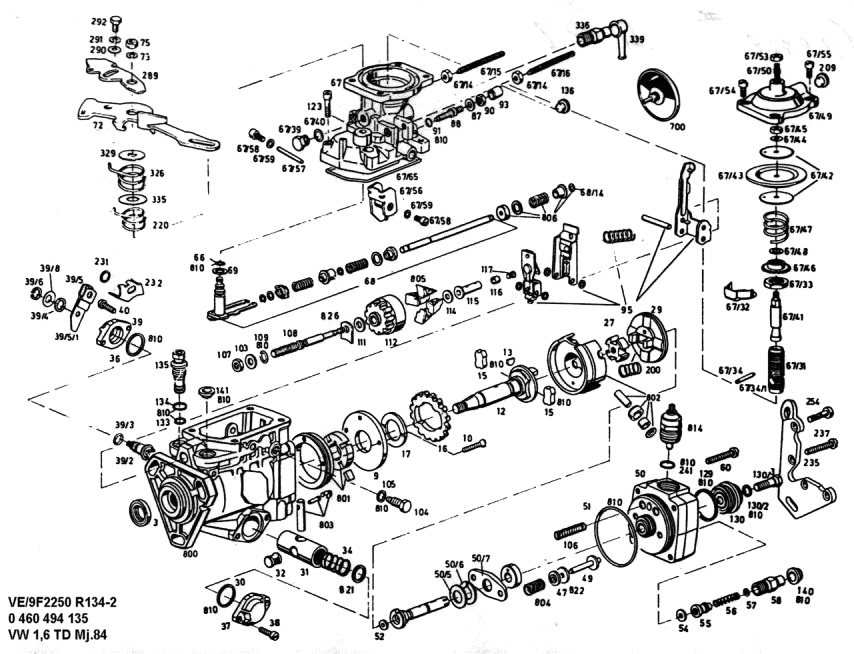 Bosch einspritzpumpe reparieren